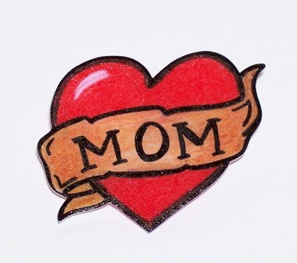And that's what motherhood is all about – the heart.