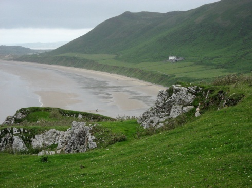 A Dream House by the Sea in Rhossili_Wales