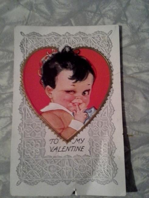 Creepy Vintage Valentine
